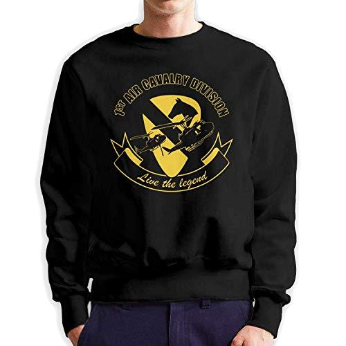 Hayfoot 1st Air Cavalry Division - Sudadera para Hombre (algodón) Color M