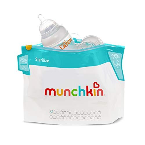 Munchkin Latch Microwave Sterilize Bags, 6 Pack