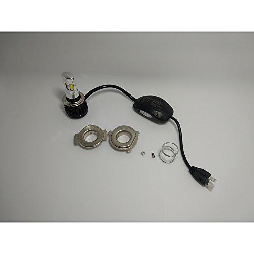 ZGMA H7 Automatique Ampoules électriques 20-40W COB 3500lm Lampe Frontale White H7