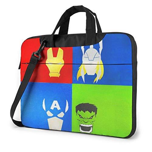 Laptop Bag Avenger Superhero Cartoon Avatar Tablet Briefcase Ultra Protective Case LAP-2179