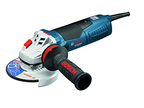 Bosch Professional 060179H002 GWS 17-125 CIE Professional Winkelschleifer 125mm GWS17-125CIE, 1700 Watt W, Schwarz, Blau, Silber