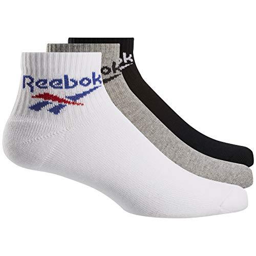 Reebok Socken CL FO Ankle Sock Größe: XL Farbe: wht/gry/bk