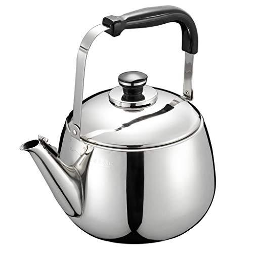 Bouilloire domestique en acier inoxydable 304 épaisse grande capacité sifflet son bouilloire bouilloire cuisinière à gaz UOMUN
