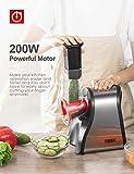Zoom IMG-2 tibek tritatutto da cucina elettrico
