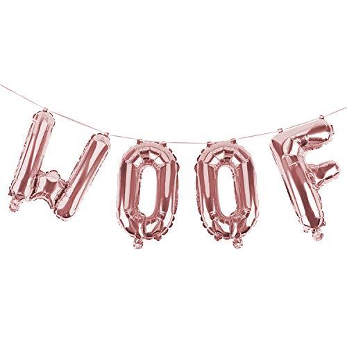 4 STKS 16'' folie ballon houten brief ballon decoratieve ballon decoratie voor huisdieren verjaardag partij