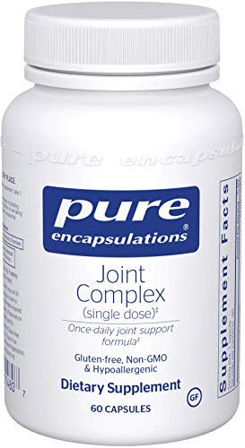 Pure Encapsulations - Joint Complex (Single Dose) - One-A-Day Formula Supports Joint Function and Comfort - 60 Capsules