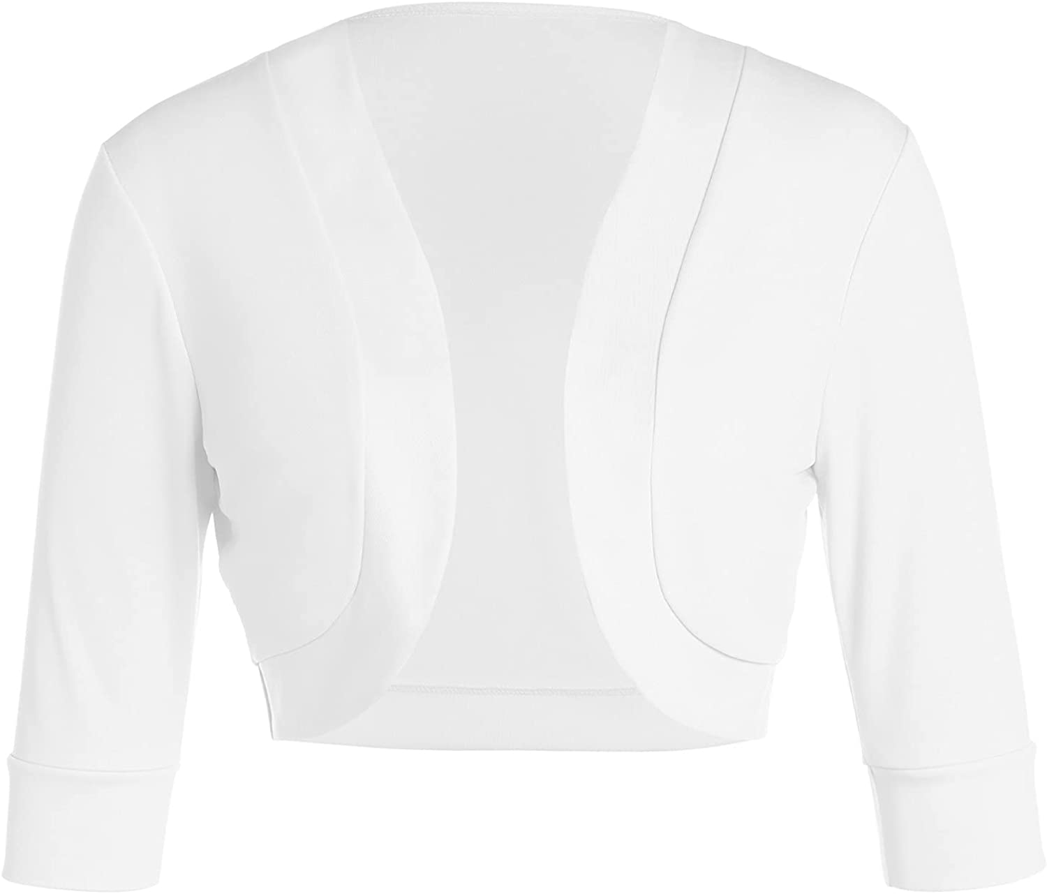 Women's Bolero Cardigans Plus Size Casual Solid Open Front Short Shrugs Cropped Sweaters Jackets Blouses