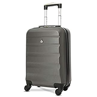 Aerolite-Leichtgewicht-69cm-ABS-Hartschale-4-Rollen-Trolley-Koffer-Reisekoffer-Hartschalenkoffer-Rollkoffer-Gepaeck