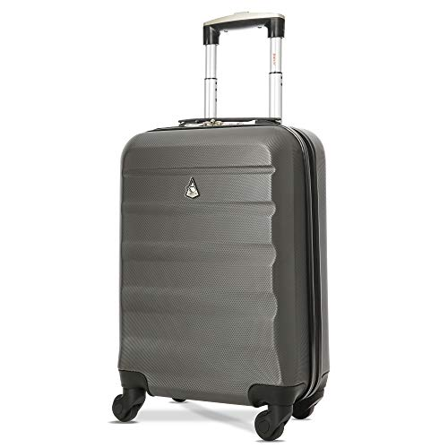 Aerolite Carry On Luggage Bag | Rolling Travel Suitcase Large Capacity | Lightweight...