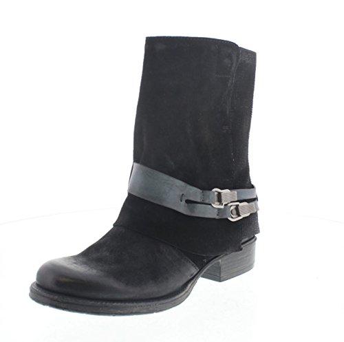 MARTINA BURARO, Damen Stiefel & Stiefeletten , schwarz - schwarz - Größe: 35 EU