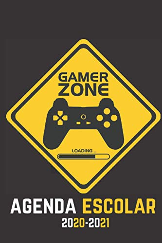 agenda escolar 2020-2021 gamer zone: Agenda Gamer | primaria