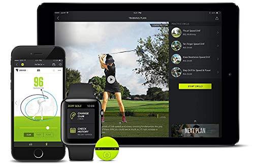 Zepp Golf 2.0 partenaire de l'analyse de vos swing 3D et du simulateur de club de golf,aides à la...