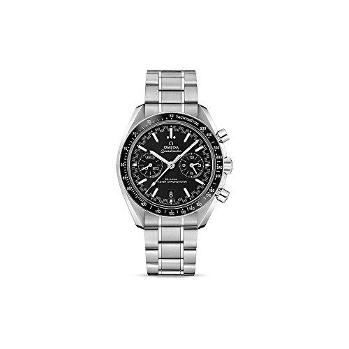 Omega Speedmaster Racing Master cronógrafo automático cronómetro negro reloj para hombre 329.30.44.51.01.001
