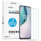 [3 pack] OMOTON Screen Protector for OnePlus Nord N10 5G Tempered Glass Screen Protector [High Definition] [Anti Scratch] [Bubble Free] [Easy Installation]