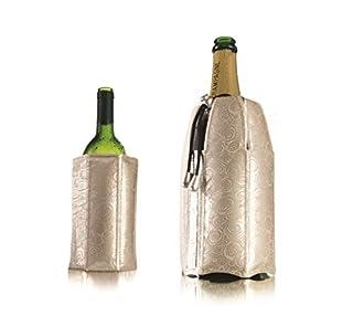Vacu Vin 3887560 Enfriador Rápido para Botellas De Vino Y Cava, Plateado (B0048ZGC1Y) | Amazon price tracker / tracking, Amazon price history charts, Amazon price watches, Amazon price drop alerts