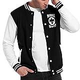 Mobile Infantry Starship Troopers Unisex Baseball Uniform Jacket Classic Coat Sport Sweater Black