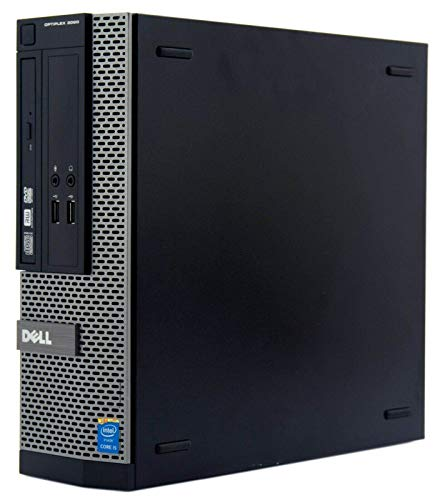 OptiPlex 3020 SFF PC Intel Core i3 4TH GEN 3.30GHz 8GB 500GB HD Win10-3 (Renewed)