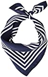 Tommy Hilfiger Iconic Stripes Bandana Bufanda, Azul (Corporate 0gy), Talla Única (talla del fabricante: OS) para Mujer