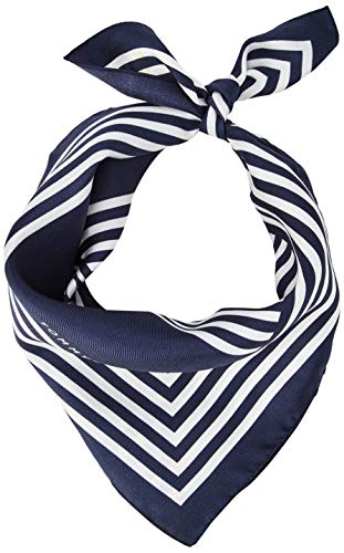 Tommy Hilfiger dames Iconic Stripes Bandana sjaal, blauw (Corporate 0GY), One size (Manufacturer Maat: OS)