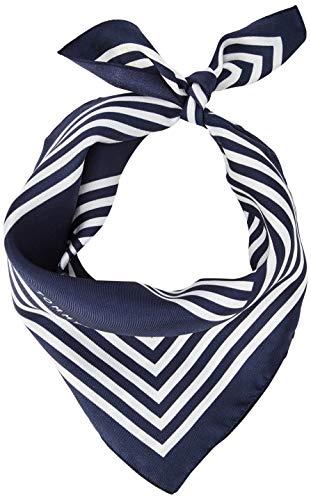 Tommy Hilfiger Damen Iconic Stripes Bandana Schal, Blau (Corporate 0GY), One size (Herstellergröße: OS)