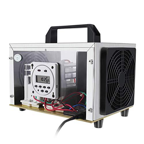 ZHAS Comercial Industrial Generador de ozono 35000mg h purificador de Aire para Reproducir Plantas, Talleres de Alimentos, Oficina, Brote Prevenir