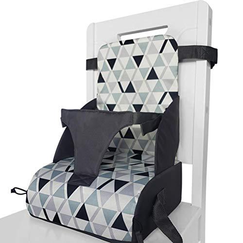 WINBST Boostersitz, Sitzerhöhung Hochstuhl für unterwegs flexibel Abnehmbarer tragbarer Kindersitz für zuhause und unterwegs