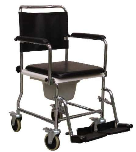 Wheeled Shower Chair/Commode Wheelchair/Commode