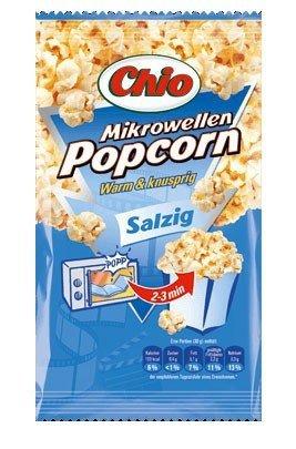 Chio Mikrowellen Popcorn salzig Menge:100g