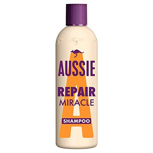 Aussie Repair Miracle Shampoo Für Geschädigtes Haar, 300 ml, Shampoo Damen, Mit Jojobasamenöl, Mit Jojobasamen Öl, Haarpflege Trockenes Haar, Haarpflege Für Trockene Haare, Tierversuchsfrei