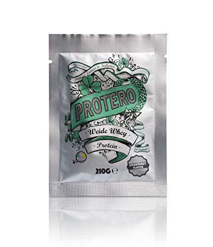Protero Weide Whey Proteïne van Ierse weidemelk - Primaal (Aardbei 210g)