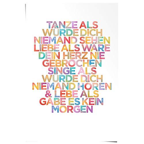 REINDERS Tanze. - Poster 61 x 91,5 cm