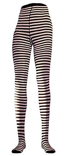 Shimasocks Damen Ringel Strumpfhose, Größe:48/50, Farben alle:weiß