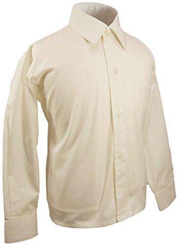 Paul Malone - Festliches Kinderhemd Jungenhemd - Jungen Hemd Champagner 152/158 (14 Jahre)
