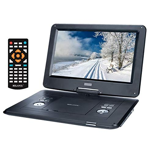 Amazing Deal Milanix 17.4 Portable DVD Player with 15.4 Large Swivel Angle Adjustable Display Scre...
