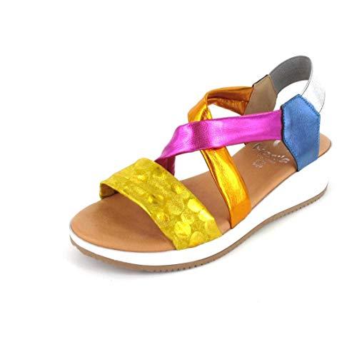 Marila Sandale Größe 37, Farbe: Aries Multicolor
