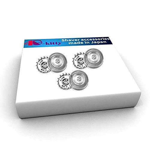 sh30 / 52 tête de rechange pour la série 1000, 2000, 3000 rasoirs et s738 cliquer et style de philips norelco