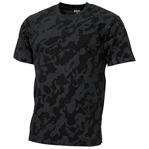 MFH 00130D US Army Herren Tarn T-Shirt Streetstyle (Night Camo/3XL)