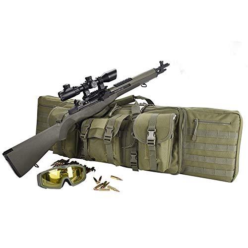 TBDLG Gewehr Schutztasche,Wanderrucksack Jagdausrüstung Taktische Waffentasche Armee Military Airsoft,120CM