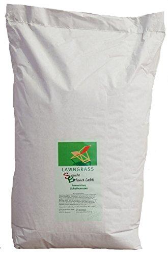 Rasen Schattenrasen Grassamen Rasensamen Rasensaat Gras 10kg Rasenmischung -Qualität zum Fairen Preis
