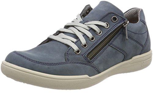 Jomos Carrera, Zapatos de Cordones Derby para Hombre, Azul Jeans, 39 EU