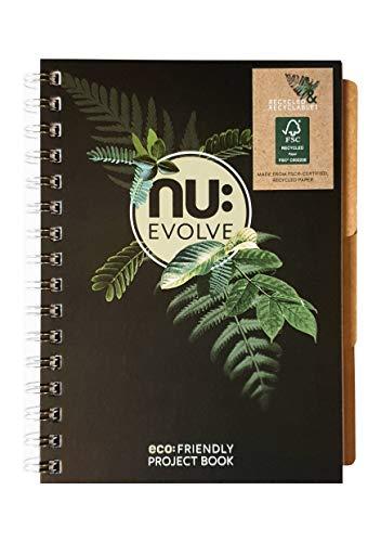 Nu Evolve - Cuaderno de proyectos (A5, FSC, reciclado)