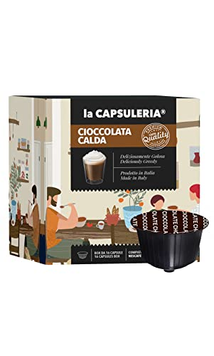 La Capsuleria - Capsule compatibili Nescafè Dolce Gusto - CIOCCOLATA CALDA - (96 Capsule)