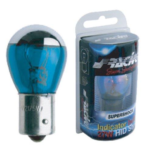 Simoni Racing CH/BA-W Bulb Bau15S Halogen, Monofilament, Chrome Head, White Light