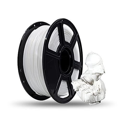 FLASHFORGE PLA 3D Printing Filament 1.75mm 1KG/Roll for Creator Series (White)