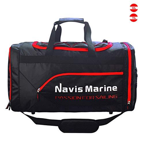 Navis Marine Duffel Dry Bags Waterproof for Sailing Backpack Boating Luggage Team Bag 30L 40L 50L...