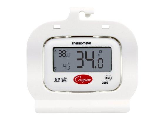 Cooper-Atkins 2560 Digital Thermometer, Refrigerator/Freezer, NSF -22 Degree F/122 Degree C