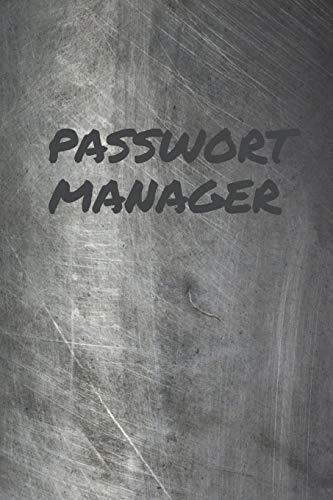 Passwort Manager: Offline Passwort-Buch mit Register