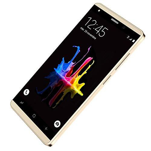 Cellulari Offerte 4G, J3(2019), 5.0'' HD 16GB ROM Telefoni cellulari in offerta (Slot per schede: 2 Mirco SIM+1 MicroSD) Android 7.0 Quad Core Smartphone Offerta del Giorno Oro