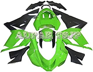 Complete Motorcycle Fairings for ZX10R 2004 2005 Year Injection ABS Plastic 04 05 Motorbike Covers Body Work Panels Kits Black Green