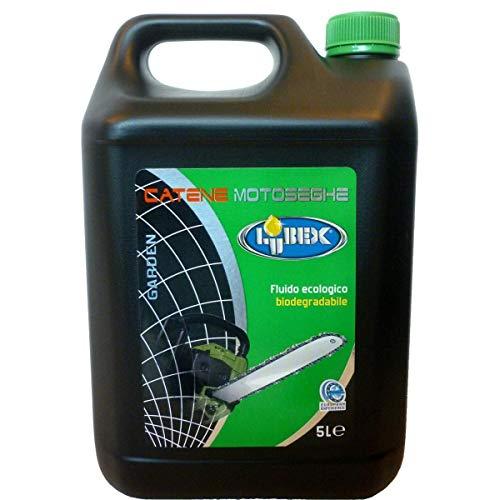 elettrosega olio LUBEX Olio LUBRIFICANTE Catena Catene Motosega LT. 5 Fluido Ecologico